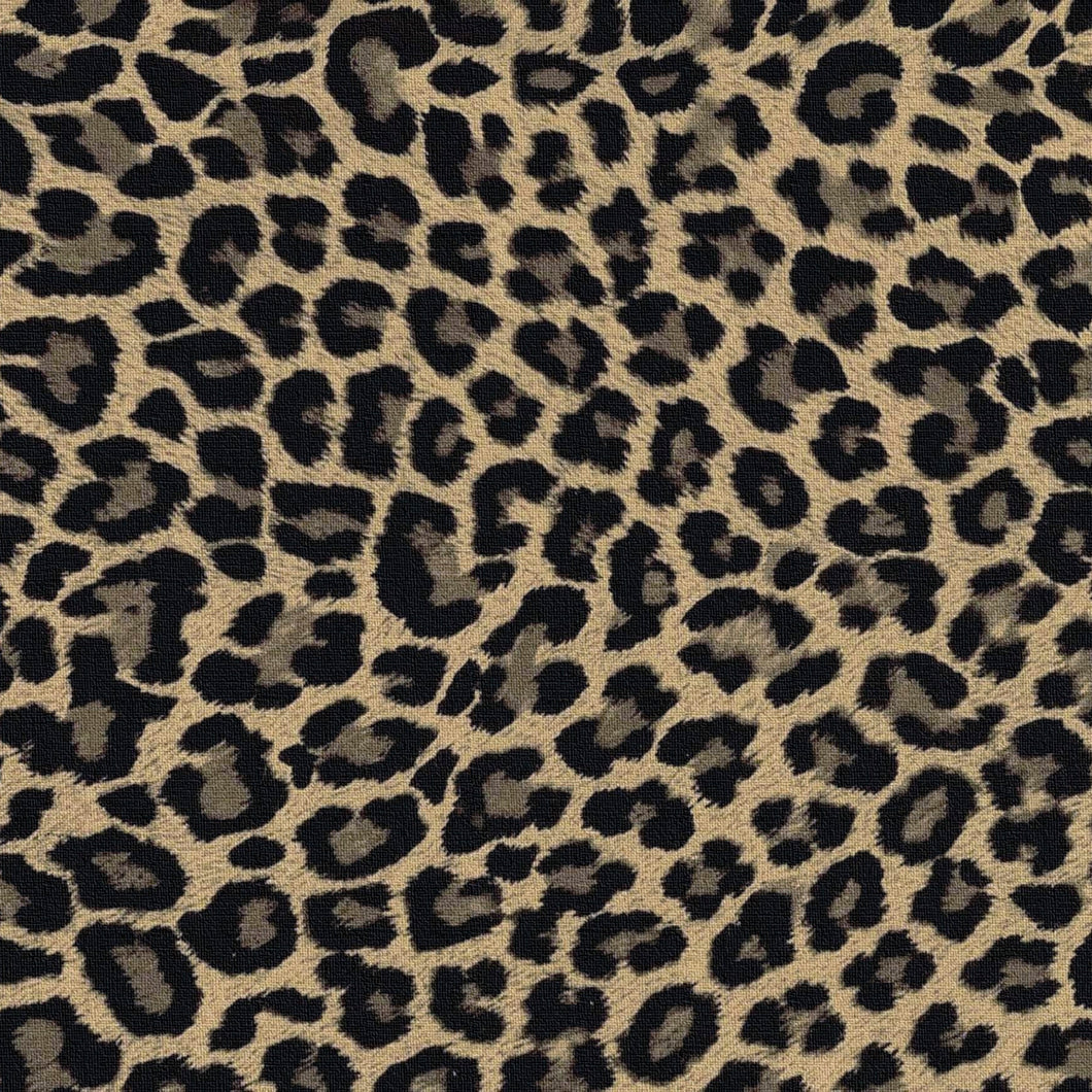 Leopard Charger (ENLARGED TO SHOW DETAIL) - (SQUARE)