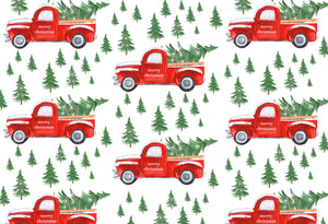 Red Christmas Truck - Placemat