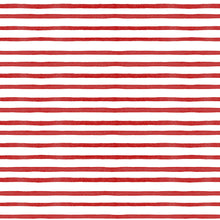 Load image into Gallery viewer, Red Painted Stripe Charger (ENLARGED TO SHOW DETAIL) - (SQUARE)