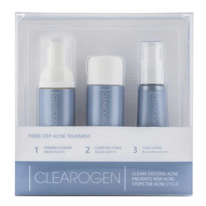 Clearogen Treatment Set - Benzoyl Peroxide (1 month supply) - Clearogen