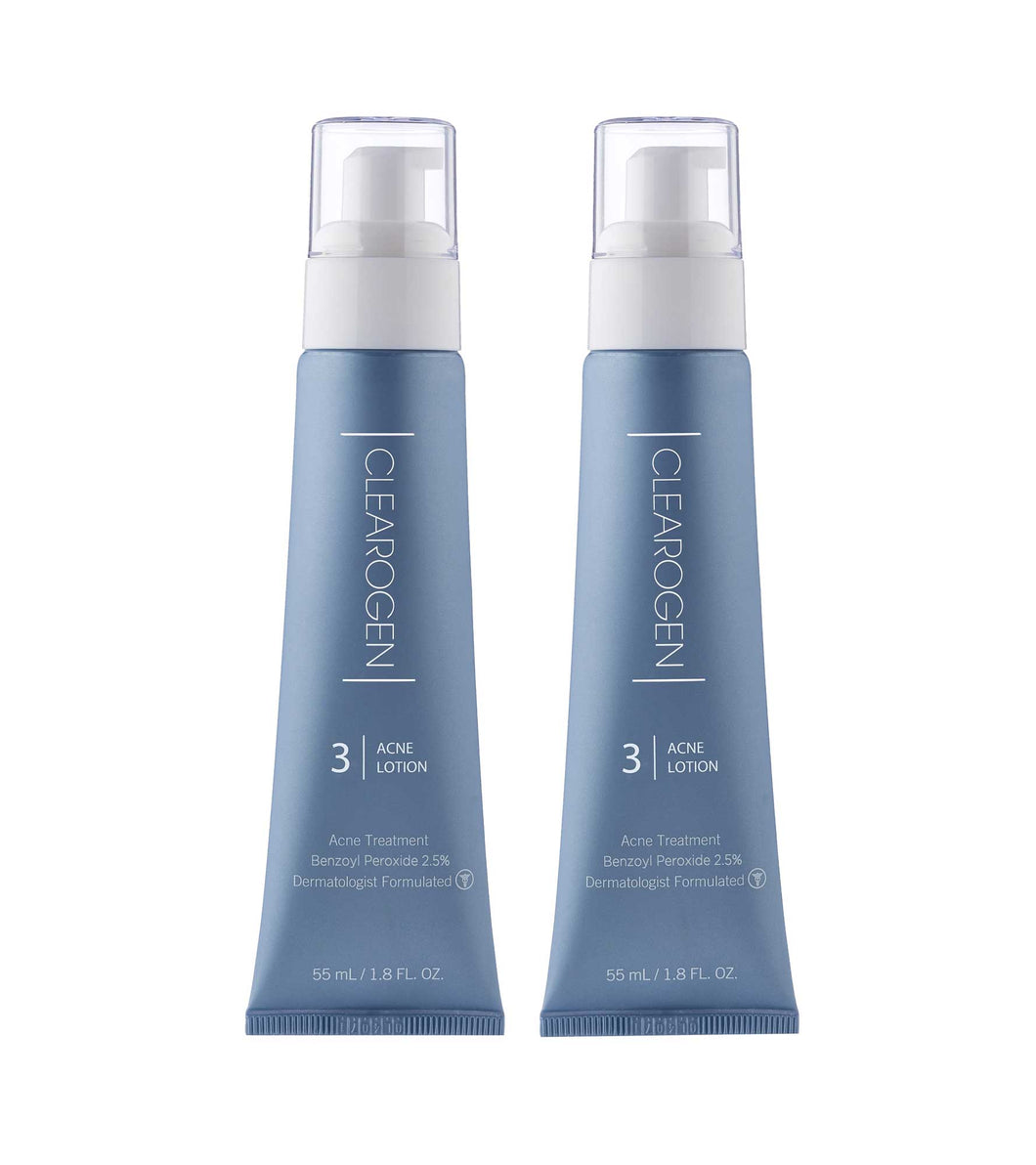 Clearogen Benzoyl Peroxide Acne Lotion (2-Pack) - Clearogen