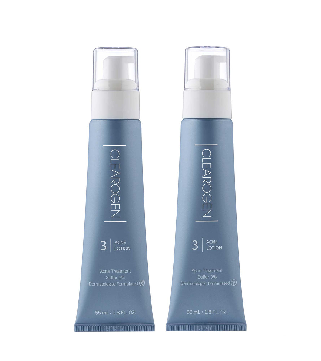 Clearogen Sensitive Skin Acne Lotion (Double Pack) - Clearogen