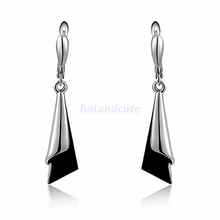Load image into Gallery viewer, Versatile White Gold Plated Earrings