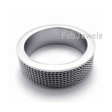 Load image into Gallery viewer, High Quality Stainless Steel 316L Men's Ring