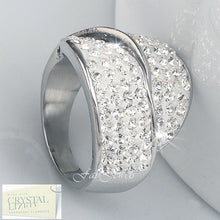 Load image into Gallery viewer, High Quality Stylish Stainless Steel 316L Ring with Swarovski Crystals