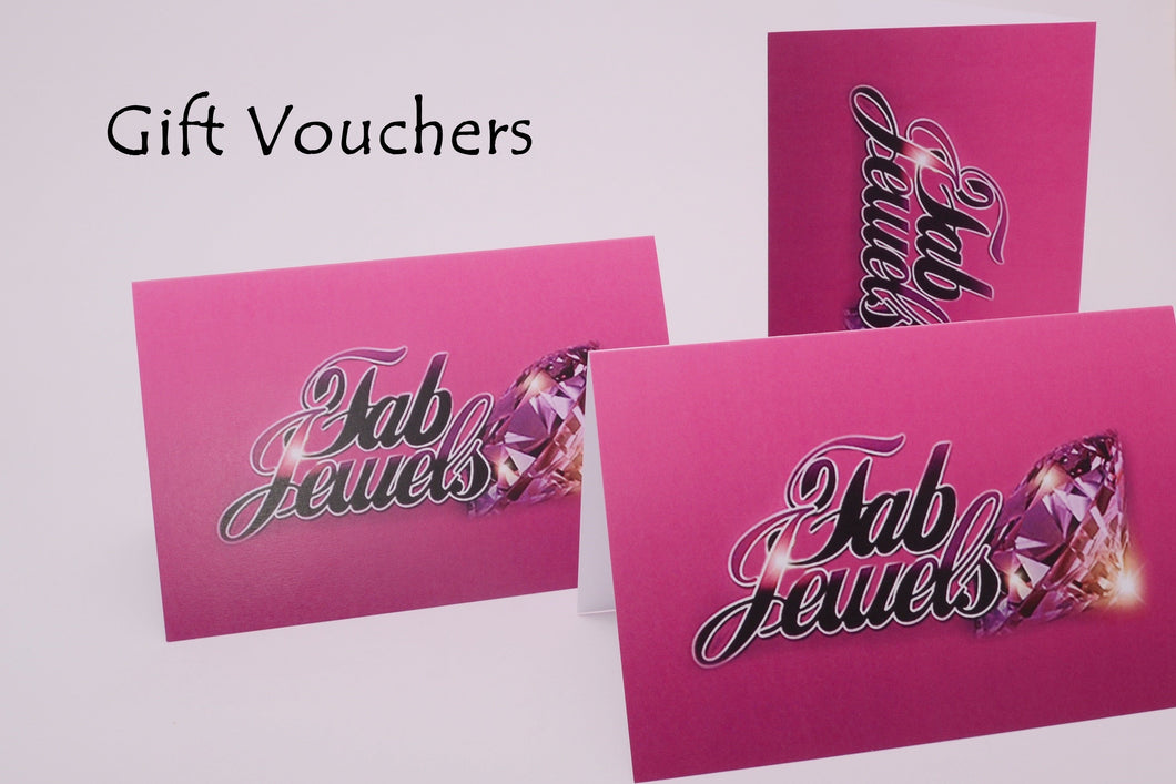 Gift Vouchers Free Postage