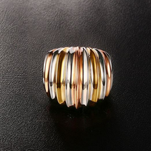 Load image into Gallery viewer, Stainless Steel 3 Colour Stylish RING