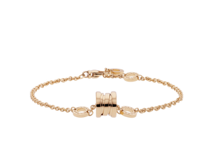 Stainless Steel 316L  Bracelet Rose Gold Plated Yellow Gold Plated Silver