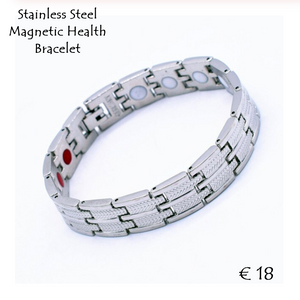 Health Stainless Steel Magnetic Bracelet