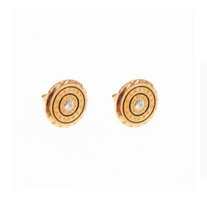 Stainless Steel Stylish Hypoallergenic Stud Earrings Silver Gold Rose Gold