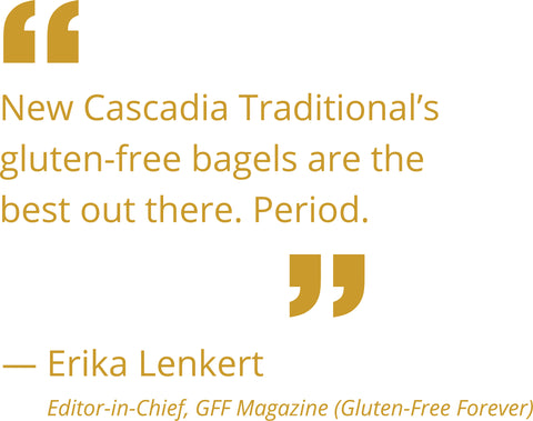 Gluten-Free Forever Magazine review quote