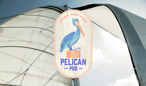 The Pelican Pub in Knysna, South Africa from the Lizelle & Co story colelction
