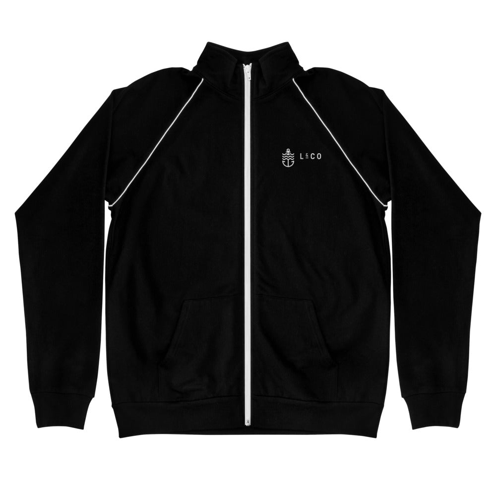 Anchor L & Co. Logo Fleece Zipper Jacket