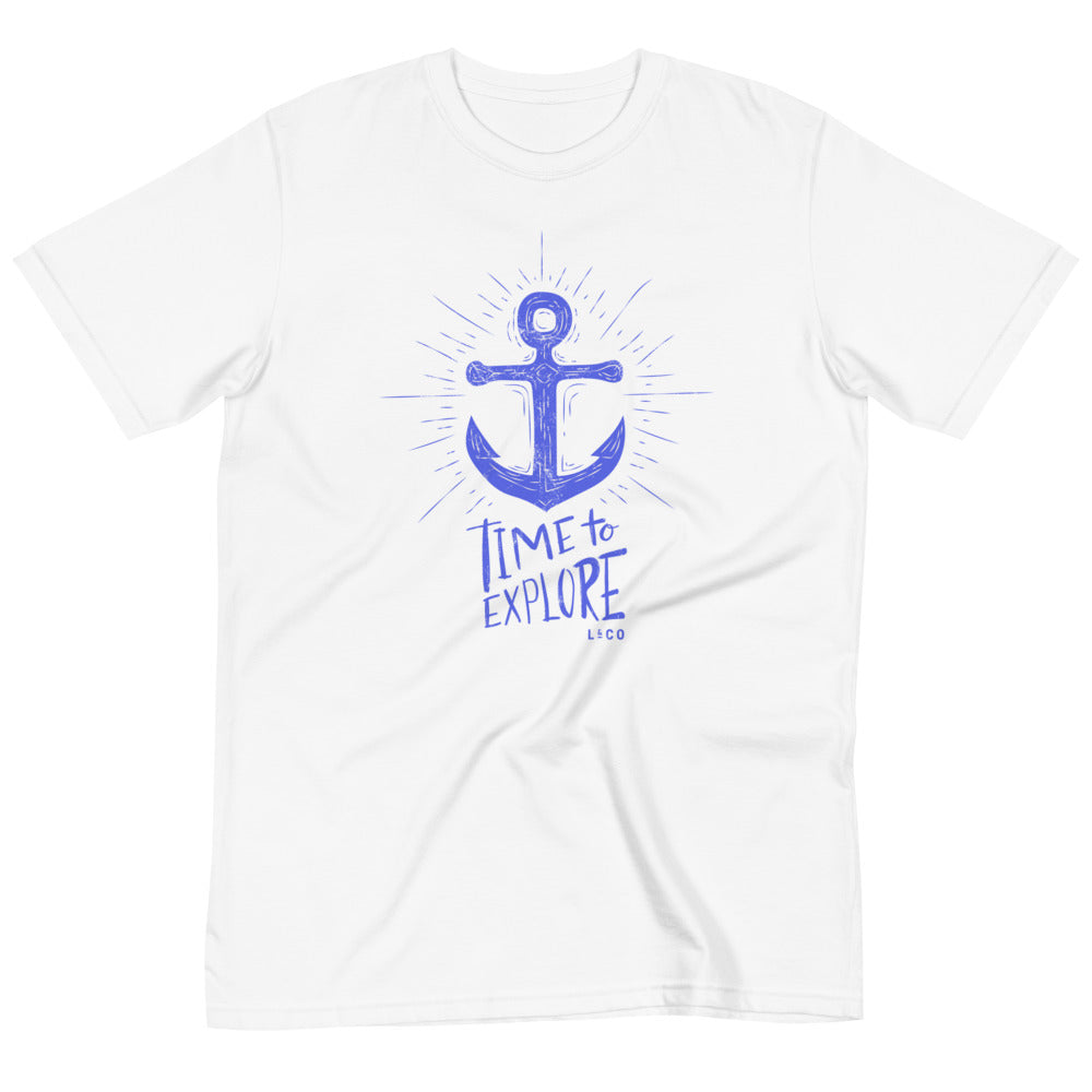 Organic Unisex Time To Explore T-Shirt