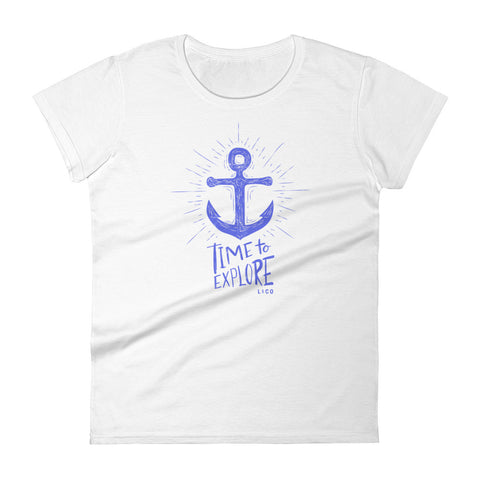 Time To Explore Women's T-shirt