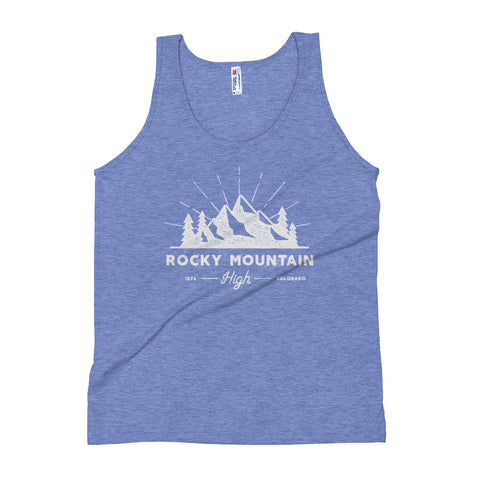 Rocky Mountain High Colorado Unisex Tank Top