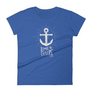 Royal Time To Explore Women's T-shirt