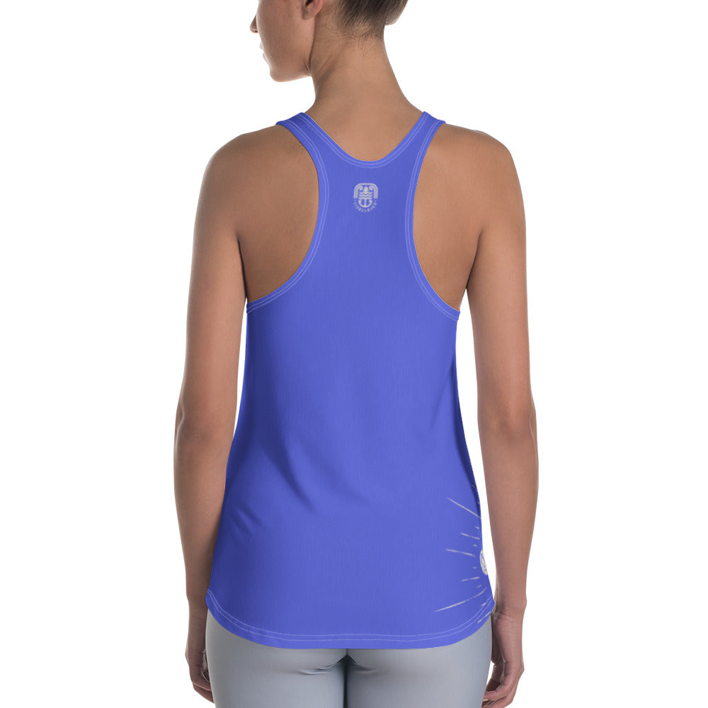 All Over TIme To Explore Women's Racerback Tank