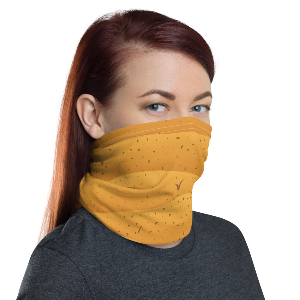 Golden Desert Neck gaiter Full Face Mask