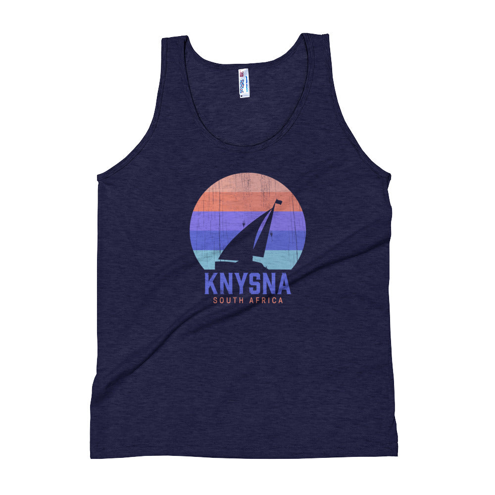 Knysna Sailing Navy Unisex Tank Top