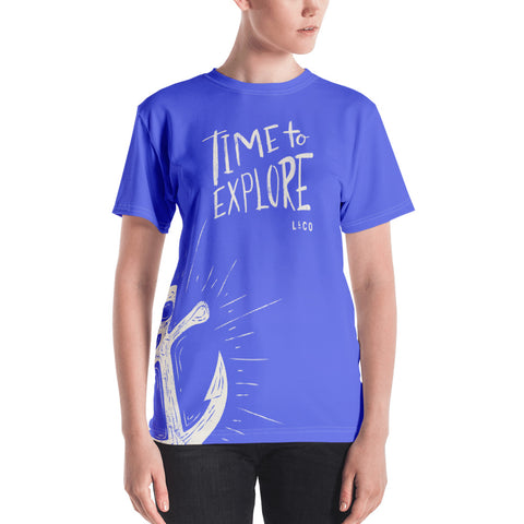 All Over Time To Explore Women's T-shirt