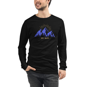 Ski Bum Unisex Long Sleeve Tee