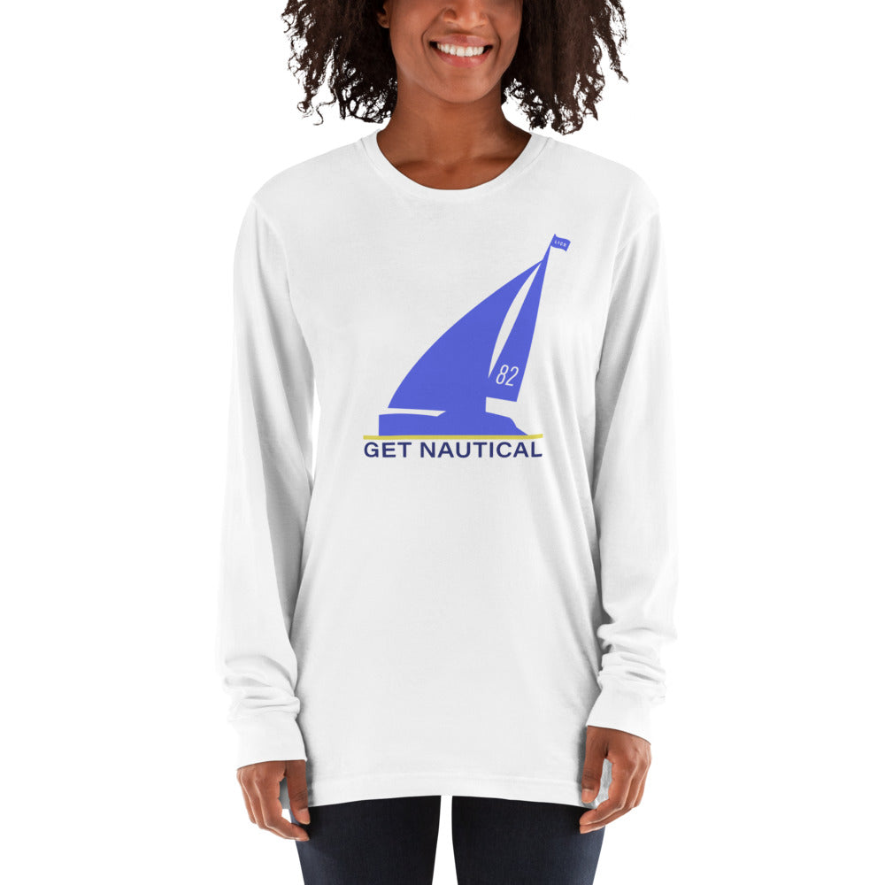 Get Nautical White Long sleeve shirt