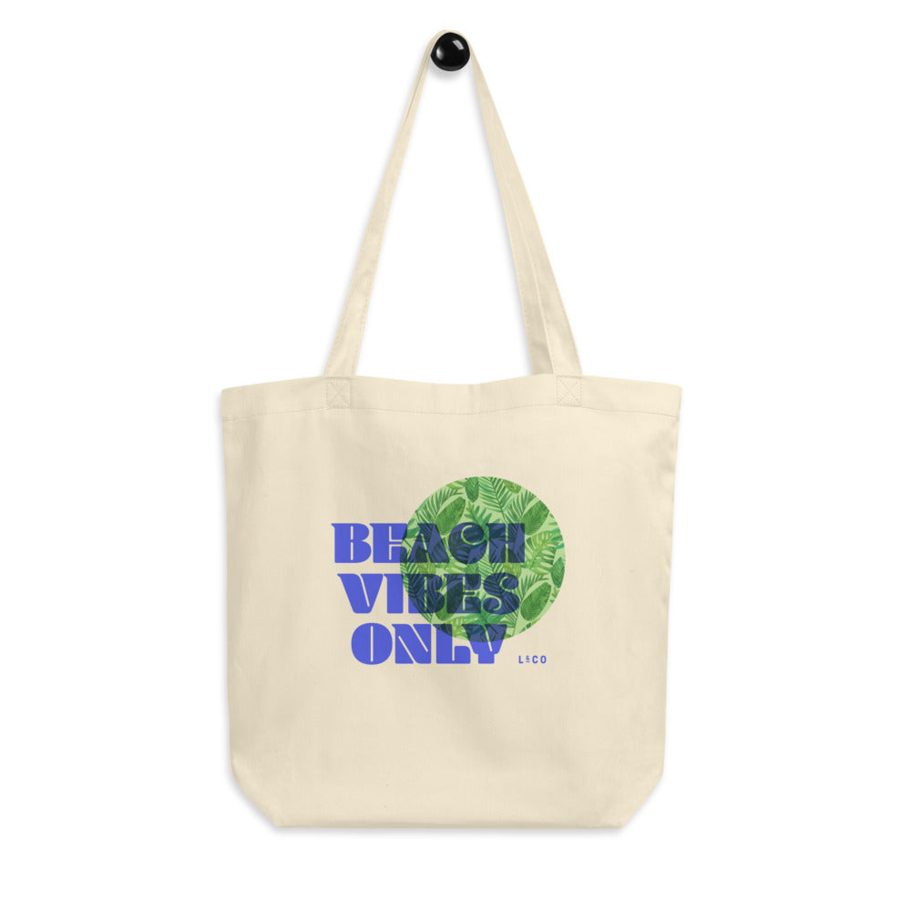 Beach Vibes Only Eco Tote Bag