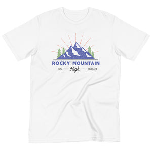 Rocky Mountain High Colorado Organic T-Shirt