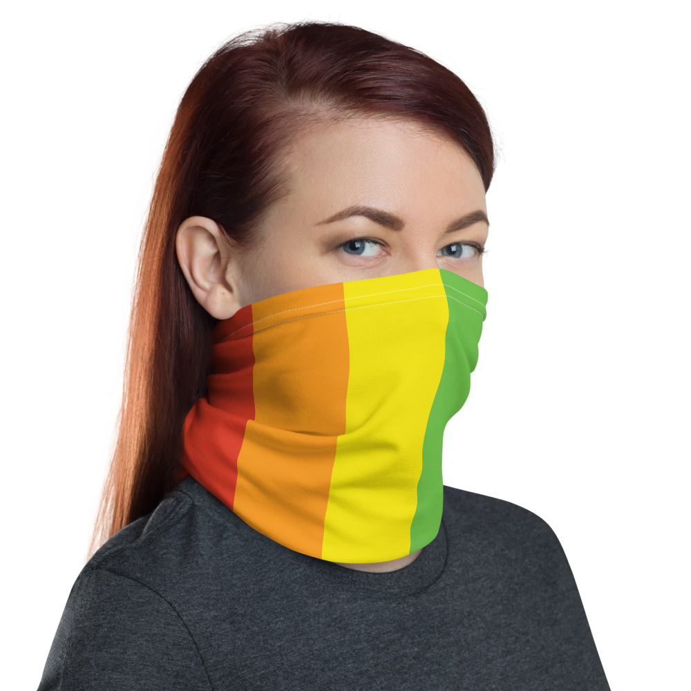 Pride Rainbow Neck gaiter Full Face Mask