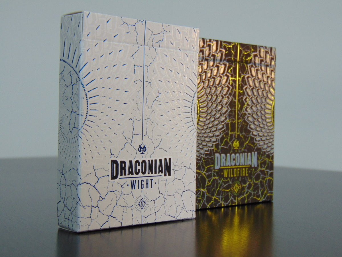 Draconian (wildfire and wight) playing cards