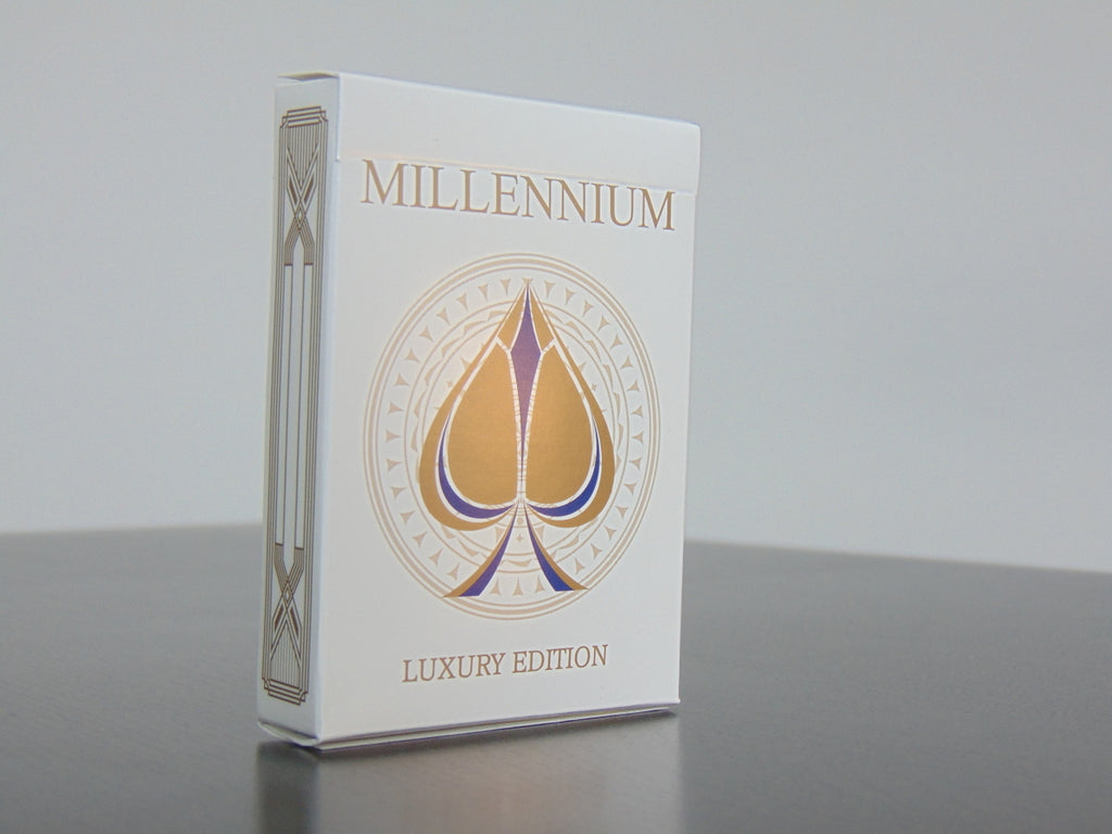 Millennium playing cards