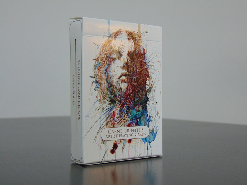 Artist Playing Cards by Carne Griffiths