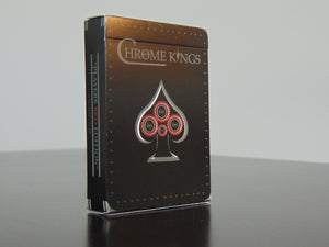 Chrome Kings (red) playing cards