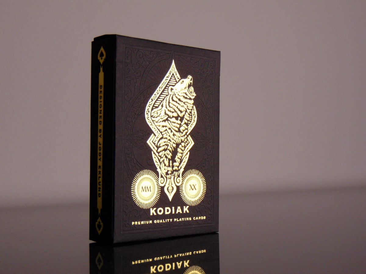Kodiak by Black Ink Playing Cards (Jody Eklund)