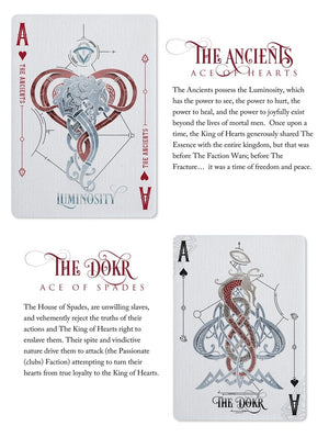 Luminosity Set by Black Ink Playing Cards