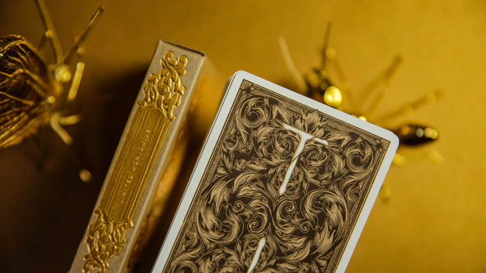 Luxury Sword T Collector's Set (12 Decks) by United Playing Cards (TCC)