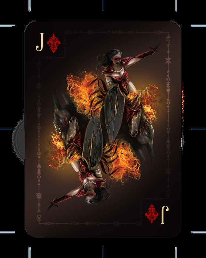 Riders of the Apocalypse Set by Ace Collectible Playing Cards