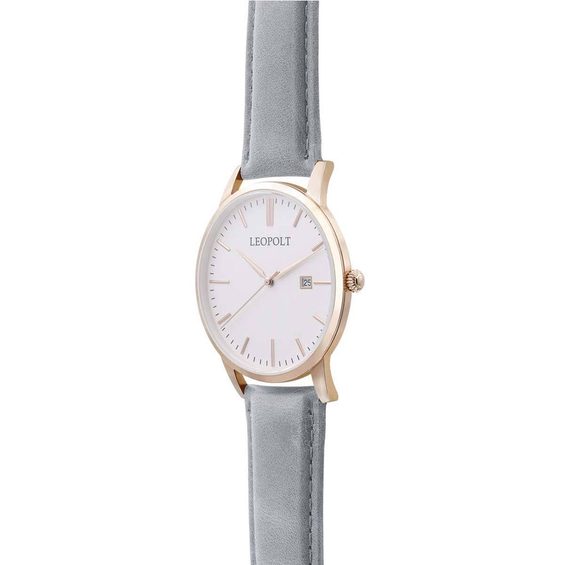 The Classic - Roségold/White