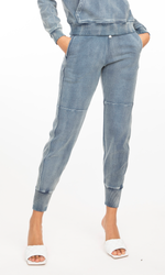 Luna Denim Sweatpants