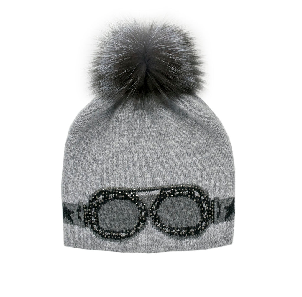 Knitted Sunglasses Hat