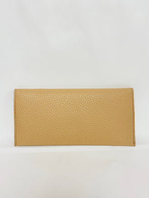 Grained Foldover Wallet   (multiple colors available)