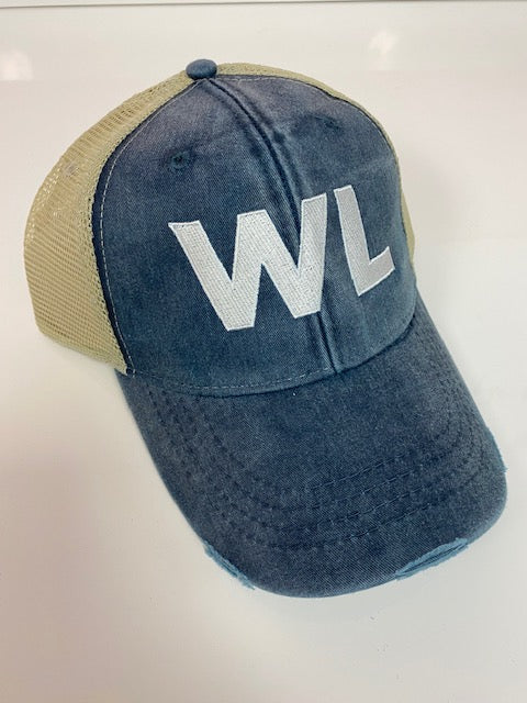 "Blue ""WL"" Hat"