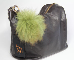 Genuine Fur Keychain - Tulips Little Pop Up Shop