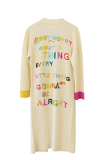 Be Alright Long Cashmere Cardigan