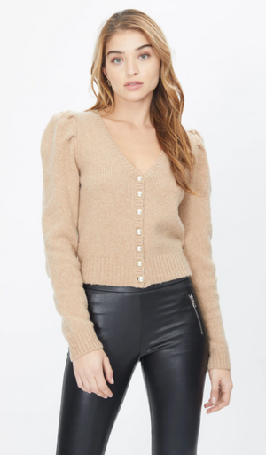 Pearl Button Sweater