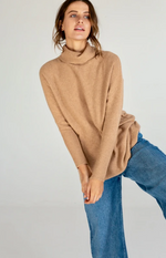 Batwing Roll Neck Pullover
