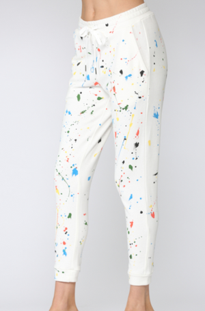 Paint Splatter Joggers