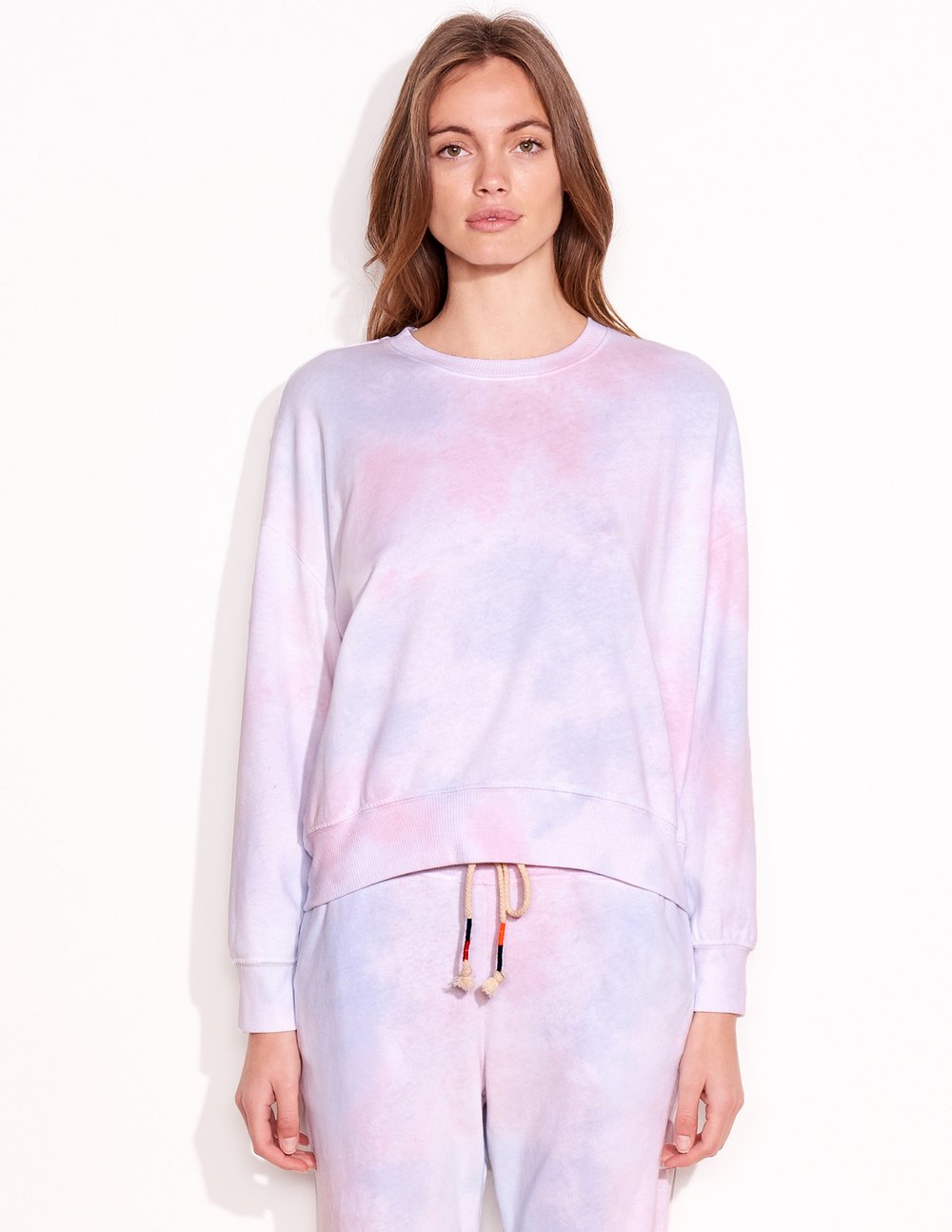 Fleece Tiedye Sweatshirt