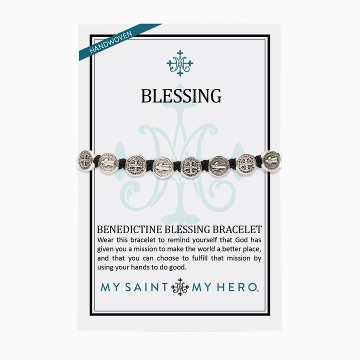 Solid Benedictine Blessing Bracelet - Tulips Little Pop Up Shop